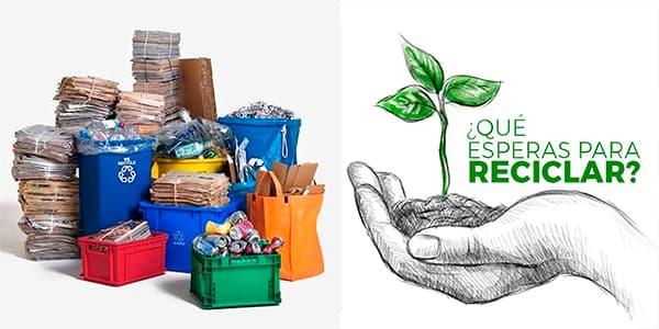 Solicita la recolección de su reciclaje