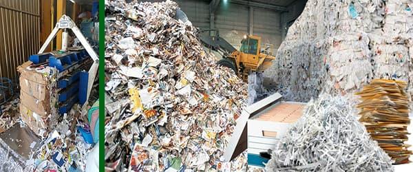 compra de papel Reciclado archivo periódico