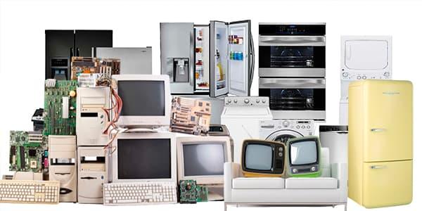 Solicita la recolección de tus electrodomésticos usados o dañados